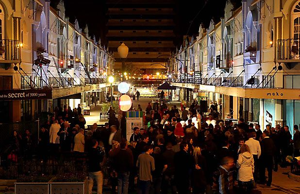 New Regent St reopens in the city of Christchurch, New Zealand