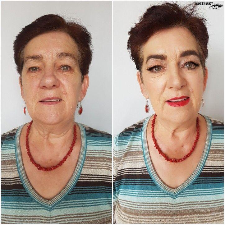 Before and after #makeup #mua #makeupartist #beforeafter #beforeandafter #powerofmakeup #makeupmagic #redlips