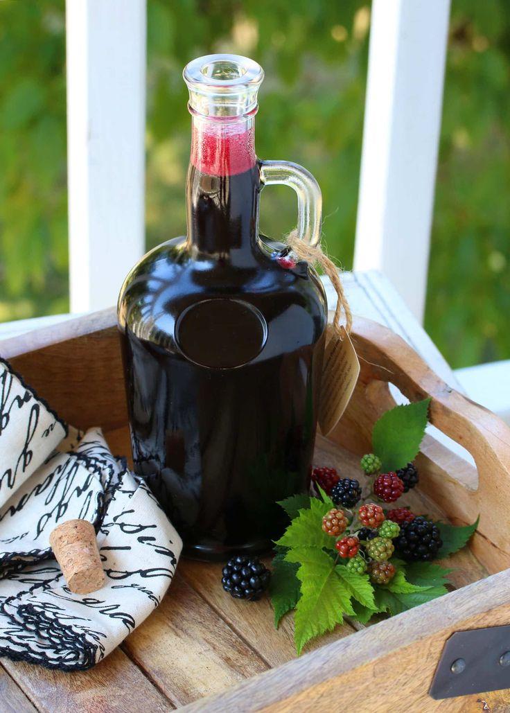 homemade blackberry syrup recipe best fresh frozen sugar free honey berry canning preserving pancake waffle crepe cake ice cream sauce