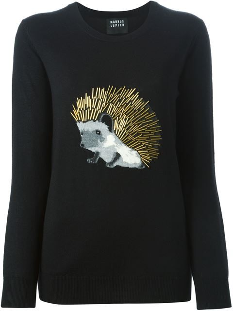 Shop Markus Lupfer hedgehog intarsia sweater in Tootsies from the world's best independent boutiques at farfetch.com. Shop 300 boutiques at one address.