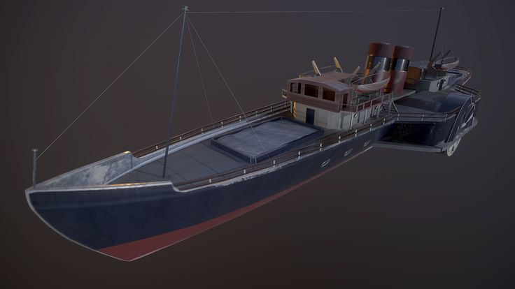 ArtStation - Paddle Steamer, Alistair Macintyre