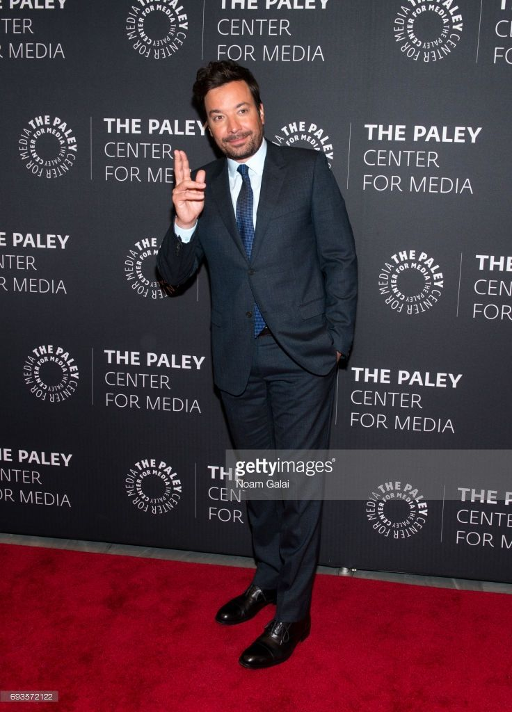 Jimmy Fallon attends an evening with 'The Tonight Show starring Jimmy Fallon' at The Paley Center for Media on June 7, 2017 in New York City.