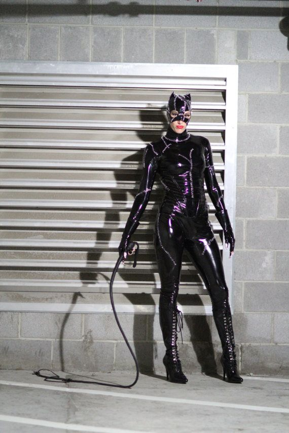 Michelle Pfeiffer Catwoman Costume Replica by SiQclothing on Etsy