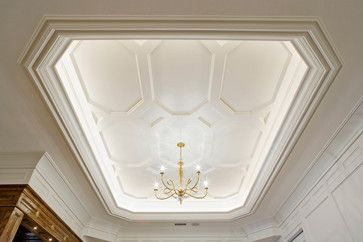 Ceiling design - beautiful coffered ceiling | Akke Woodworks