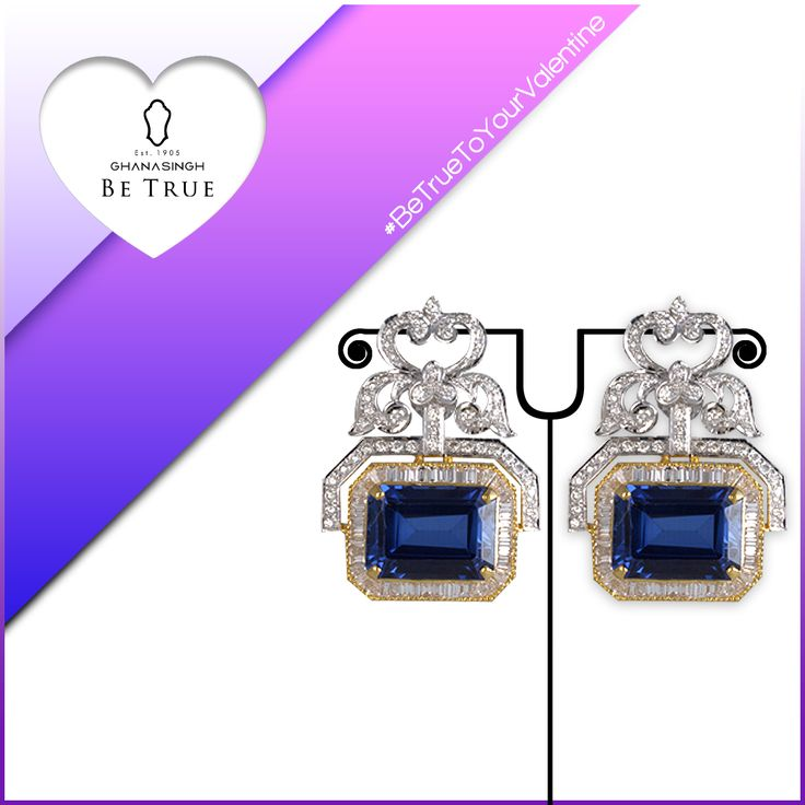 Add a touch of bling to your look with this wonderful earring sprinkled with cut diamonds. It's fascinating, isn't it?