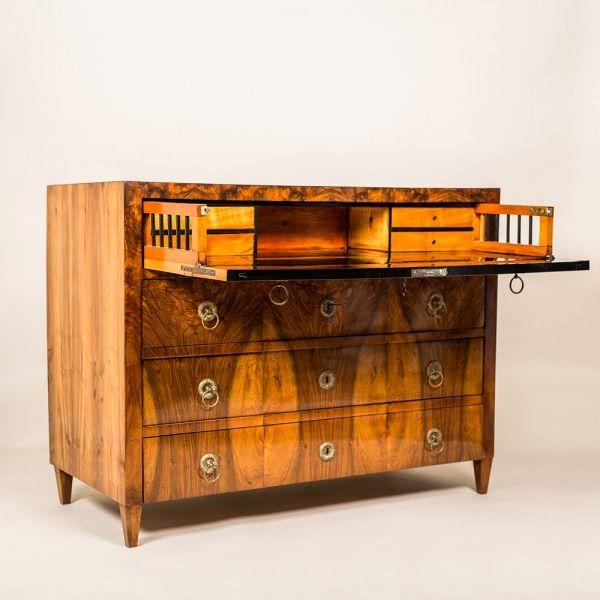 Biedermeier Conversion Desk/ Commode - Masterpiece Antiques
