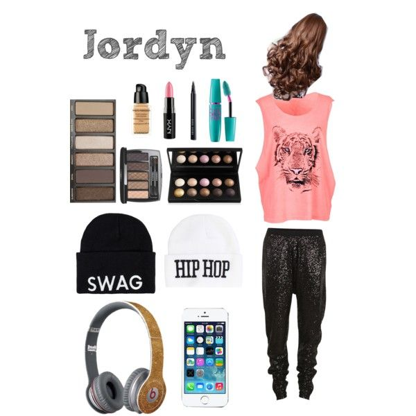 Jordyn Jones from AUDC by kyliesam1 on Polyvore featuring polyvore, fashion, style, Wildfox, VILA, Club L, United Couture,   Maybelline, Givenchy and NYX