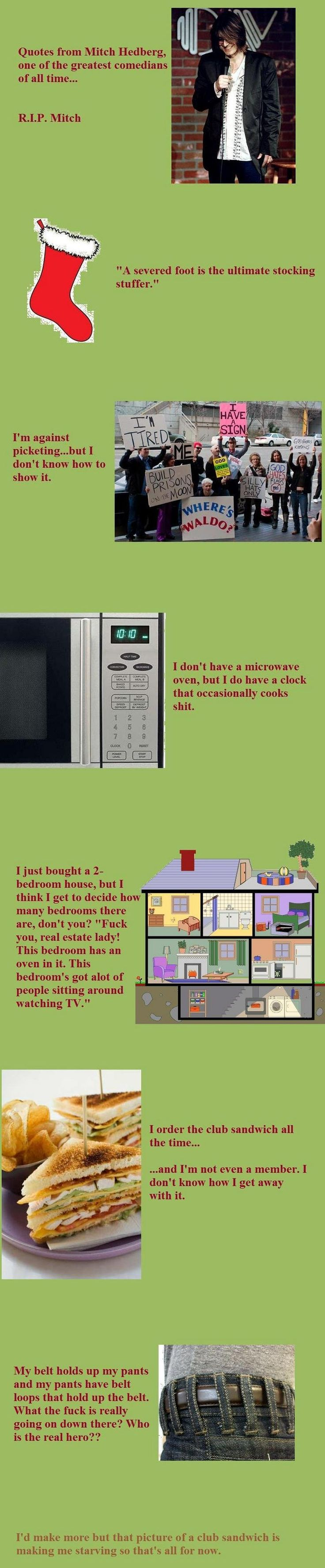 Mitch hedberg some of his best jokes