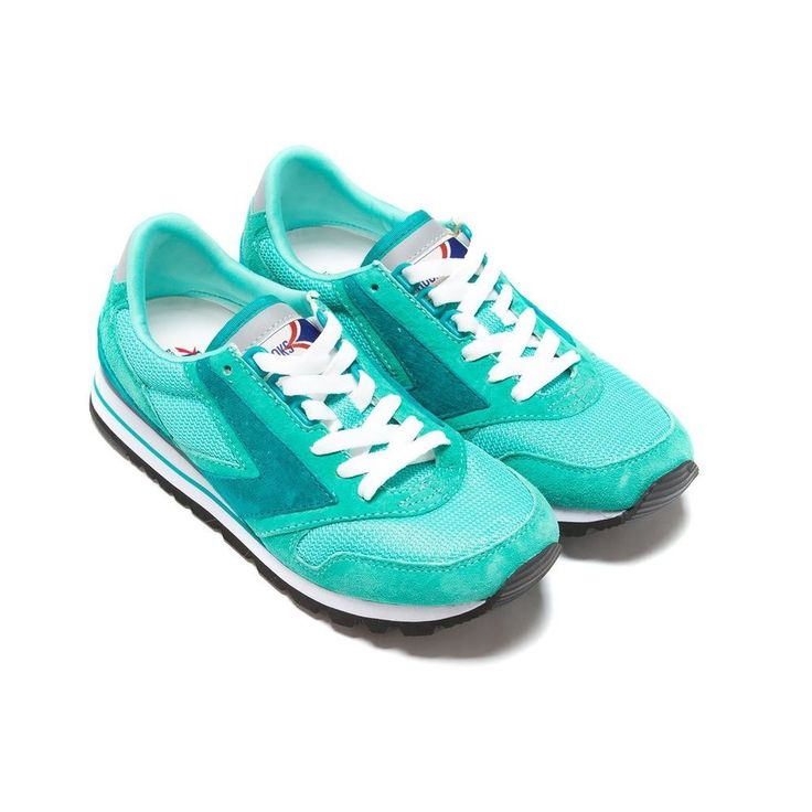 Nib brooks heritage chariot women 556 teal retro running shoes sold out 7-11