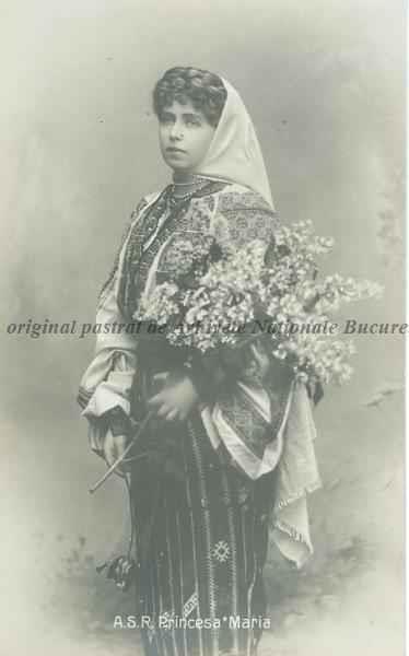 BU-F-01073-5-00031-3 Regina Maria a României, s. d. (sine dato) (niv.Document)