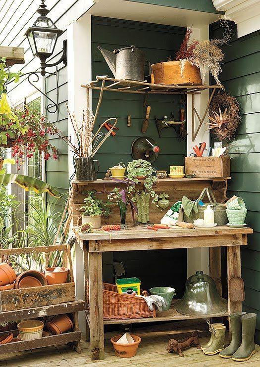Potting Bench With Sink   images of potting bench sink fed by palustrine palustrine via flickr ...