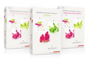 Embroidery Software 7 – Upgrade EditorPlus/ EditorLite & Update