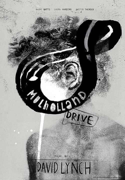 Mulholland Drive, Lynch, Polish Poster