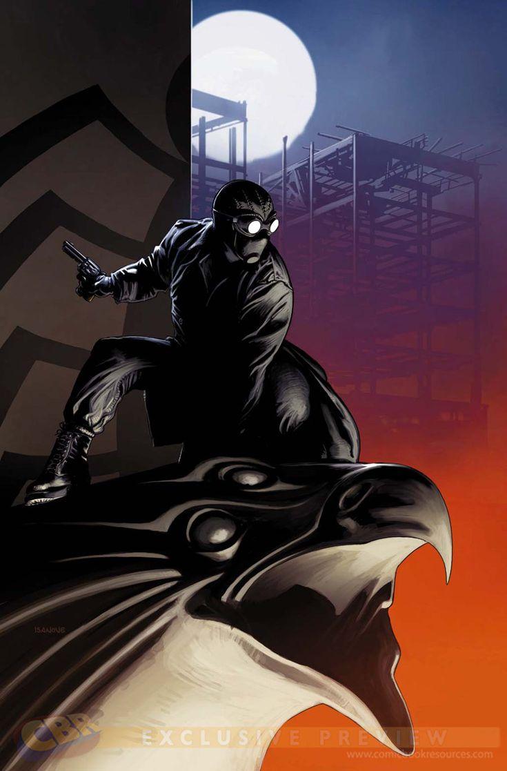 Edge of Spider-Verse #3 - Spider-Man Noir by Richard Isanove