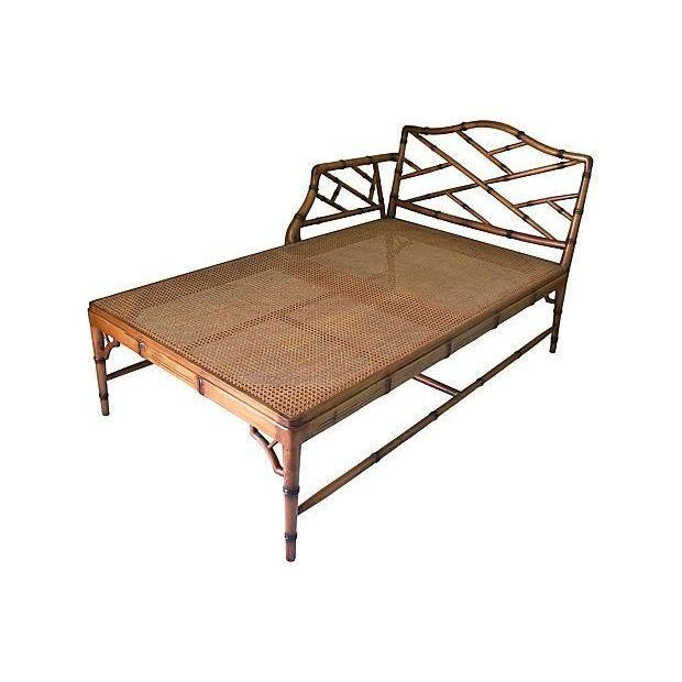Image of Faux Bamboo Chaise Lounge Chair | For the Love of Faux Bamboo | Pinterest | Faux bamboo Chaise lounges and Side chair  sc 1 st  Pinterest : bamboo chaise lounge - Sectionals, Sofas & Couches