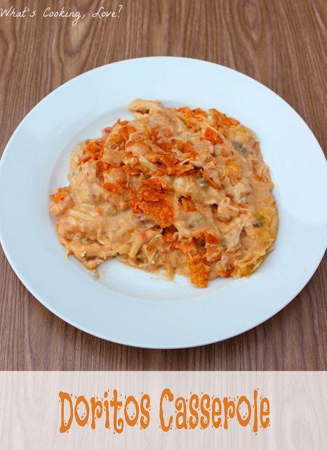Doritos Casserole.  An easy and delicious weeknight dinner made using Doritos. #casserole #dinner #Doritos