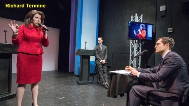Actors swapped Trump, Clinton genders in mock debate – guess whose message won | Fox News