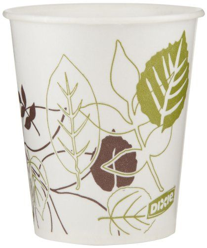 Dixie 58WS Pathways WiseSize Wax-Treated Paper Cold Cups, 5oz Capacity  50 count (Pack of 24)