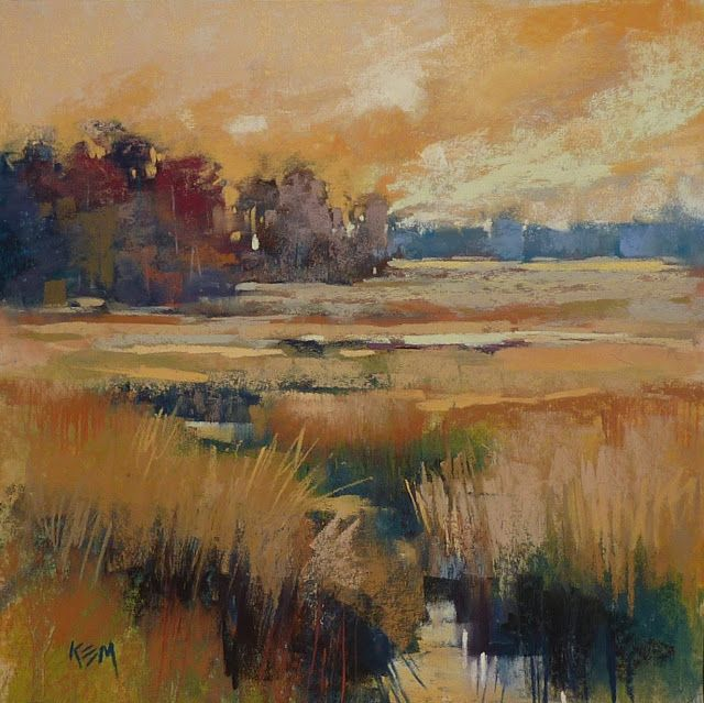 Underpainting 101 The Alcohol Wash Pastel Landscape Underpainting Landscape Paintings