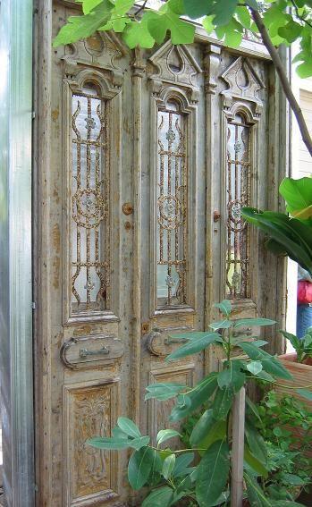 Mexican doors.
