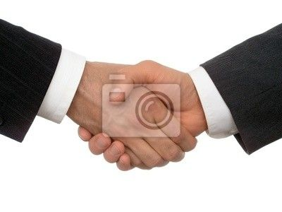 Fototapeta handshake
