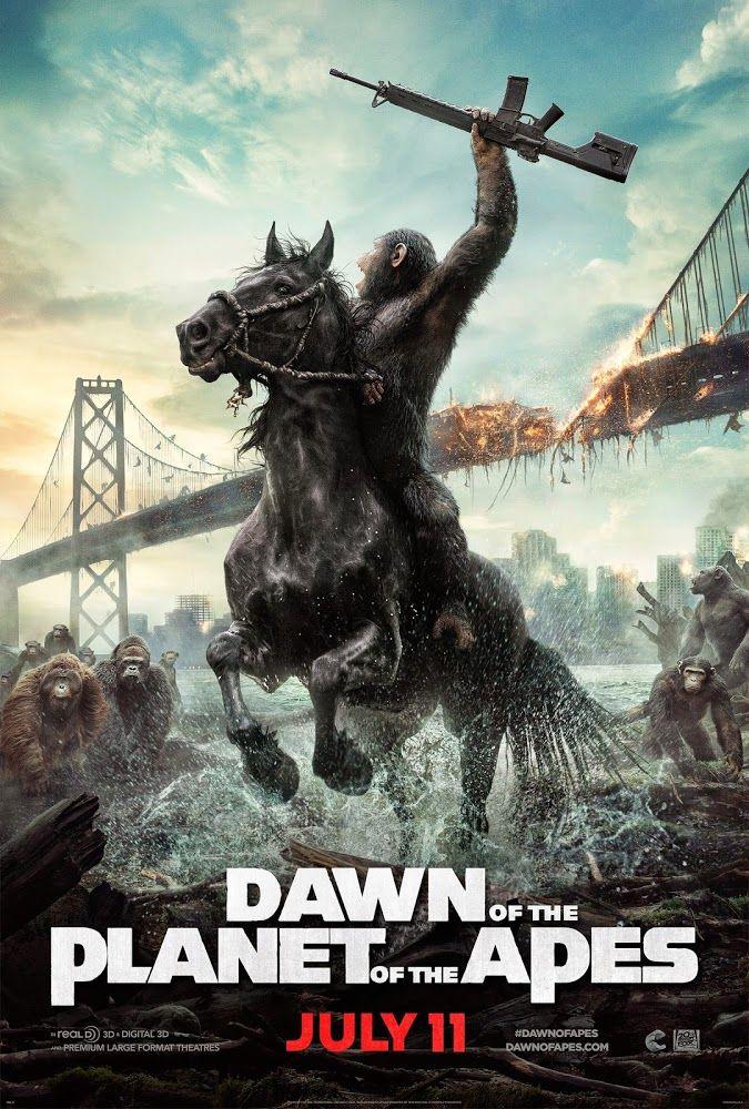 El amanecer del planeta de los simios - Dawn of the Planet of the Apes (2014)   La guerra o la paz...