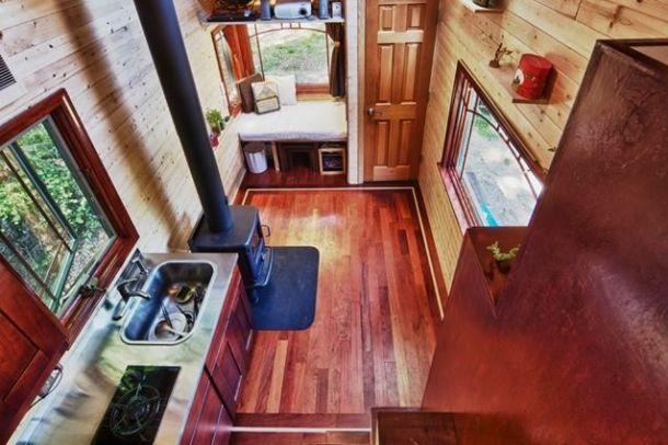 Apró ház belülről Forrás: www.facebook.com Szerző: Tiny House