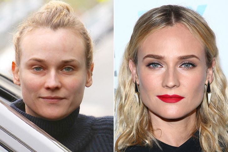 Celebs Caught Without Makeup Who Prove Cosmetics Are Just Another Way To Apply More Beauty To Their Faces Celebrites Sans Maquillage Maquillage Maquillage Ete