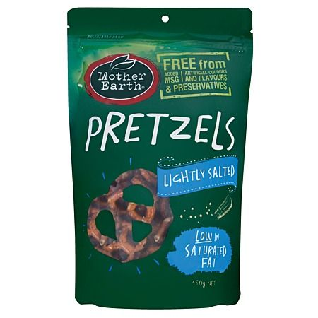 Mother Earth Salted Pretzel Knot 150g