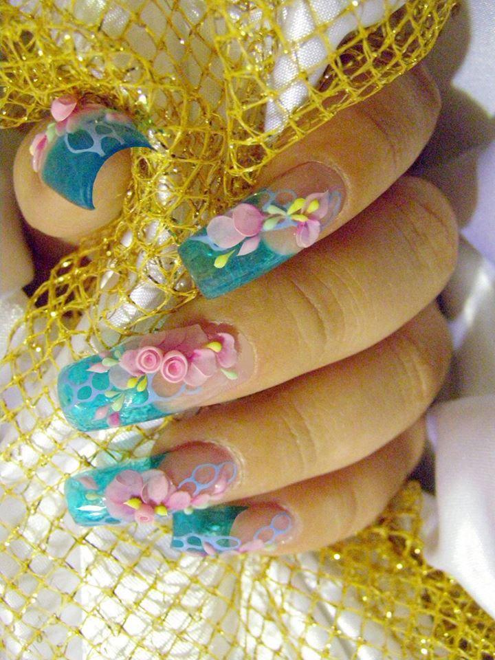 3D Nails Art Design