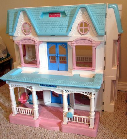 Fisher price dream doll house my first dollhouse i got for Classic house from the 90s