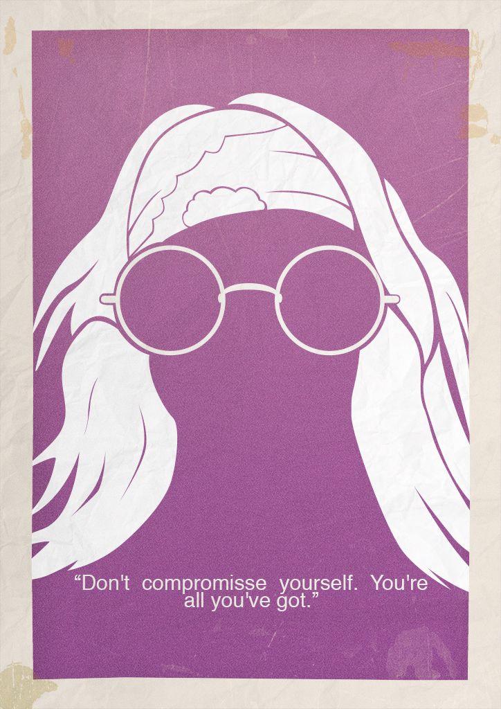 Janis Joplin Minimalist Poster
