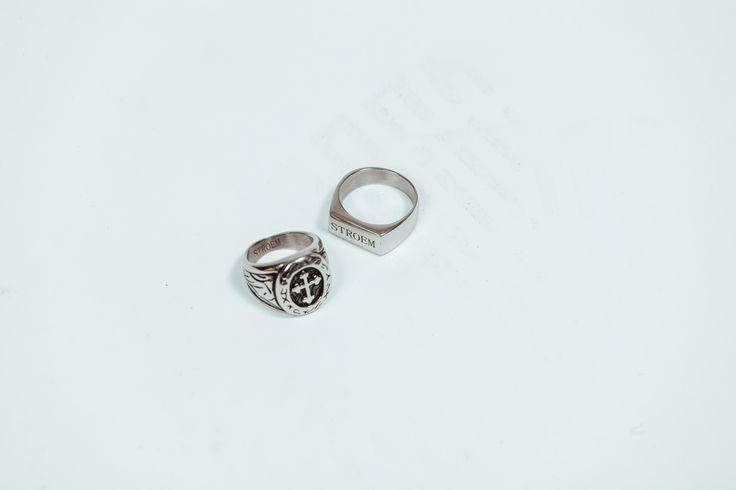 STROEM rings.  #Fashion #Acessorios #STROEM