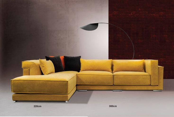 ΚΑΝΑΠΕΣ ΓΩΝΙΑ NEW YORK     Μοντέρνος καναπές γωνία με αναπαυτικό κάθισμα.   Βυθιστείτε και χαλαρώστε χάρη στα αναπαυτικά μαξιλάρια του...  Ύφασμα αδιάβροχο πλενόμενο αλέκιαστο (easy clean) για εύκολο καθάρισμα  Μαξιλάρια αποσπώμενα με φερμουάρ.    Δυνατότητα  αλλαγής πλευράς της γωνίας κατά την παραγγελία.  Δυνατότητα αλλαγής διαστάσεων.  Μεγάλη επιλογή υφασμάτων.  Ελληνικής κατασκευής .  Διαστάσεις : 300x220