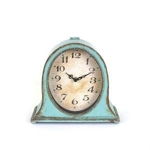 Inspired By Old Clocks Found Throughout Paris Flea Markets, This Antique  Blue Vintage Style Metal