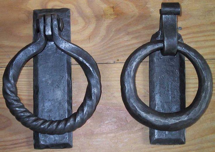 Door Knokers | Twisted Ring Door Knocker Tapered Circular Door Knocker