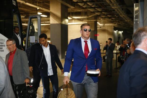 JJ Watt/ Texans arrives cowboys | Arrival Photos: Texans vs. Cowboys