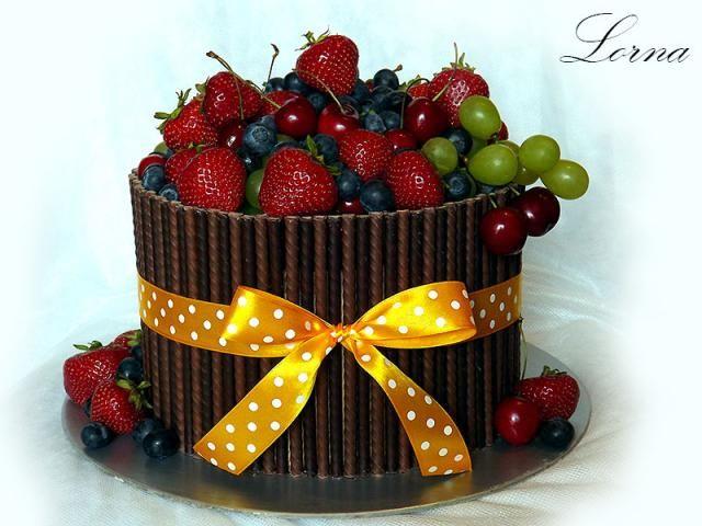 Čokoládová torta ku Dňu otcov