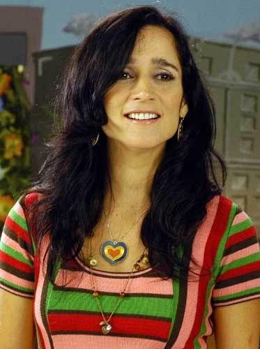 """Aquí en la grabación del videoclip de la canción: """"Me voy"""".    Ingrid Yrivarren."""