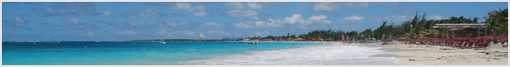 Orient Beach - for obvious reasons the most popular beach on St. Martin-St. Maarten !!