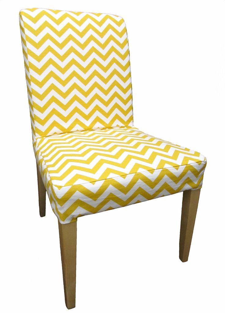 elegant housse pour ges ikea henriksdal chaise en lin par. Black Bedroom Furniture Sets. Home Design Ideas