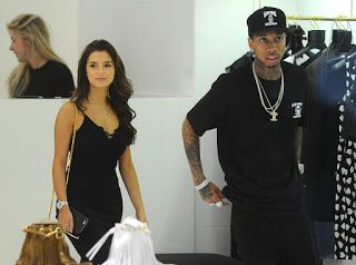 Tyga and Demi Rose Mawby Enjoy Shopping Spree and Dinner Date in Cannes