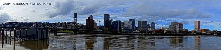 """Muddy Waters""  After a record breaking amount of rainfall in Portland, OR this month, the Willamette River seems to be swollen and muddy. #portland #portlandphotographer #oregon #oregonphotgraphy www.garypetersonphoto.com"