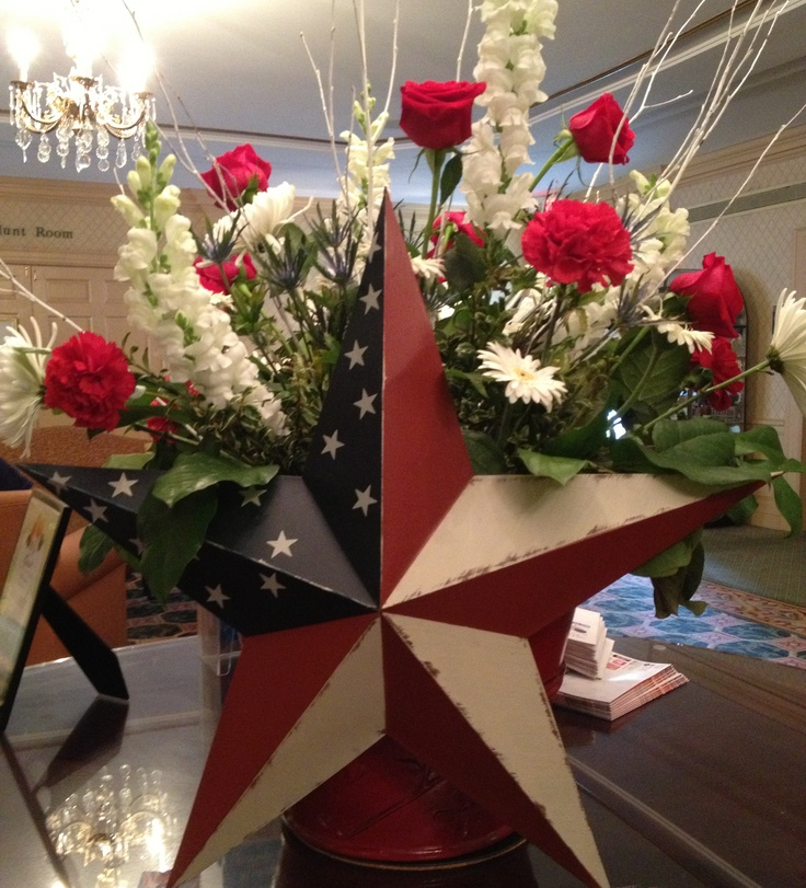 a special arrangement for any patriotic holiday