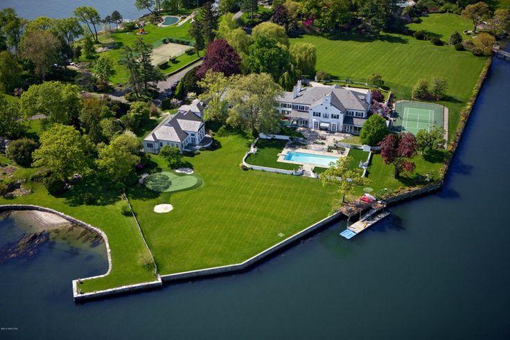 Casas de famosos: First Donald Trumph home in Connecticut / Celebrities homes: La primera de casa de Donald Trumph en Connecticut. #cosasquedesear #dreamlife