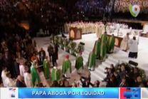 La Misa Del Papa Francisco En El Madison Square Garden #Video