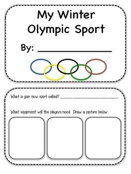 New winter sport - Winter Olympics - repinned by @PediaStaff – Please Visit ht.ly/63sNtfor all our pediatric therapy pins