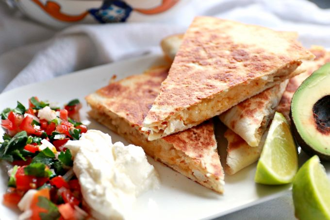 Food Friday | Kip Quesadilla's met pico de gallo salsa