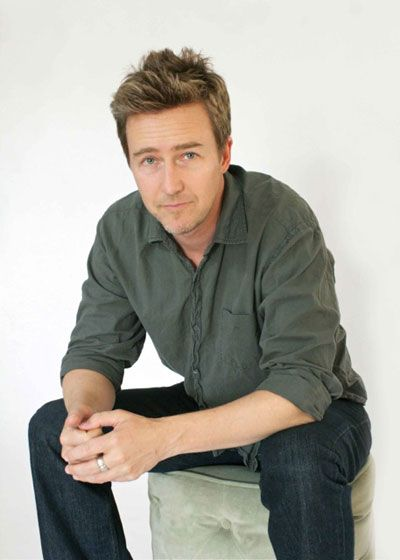 Edward Norton - one of my favourite actors of all time He is brilliant!