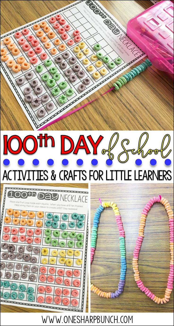 100th Day of School Activities and Games [84 Ideas] - Kid ...